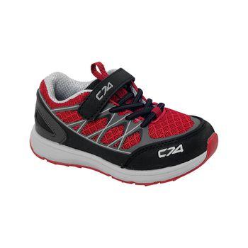 Zapatilla-Outdoor-Trail-Running-Boy-Red