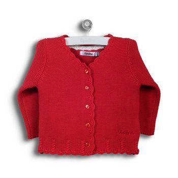 Chaleco-Con-Detalles-Trenzados-Rojo-Niña