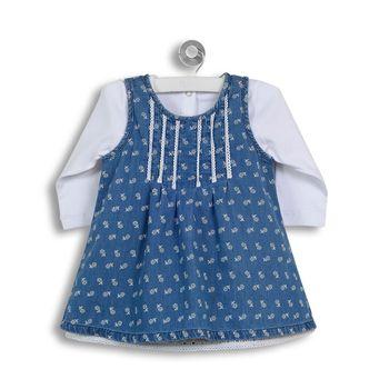 Conjunto-Vestido-Mezclilla-Y-Florcitas-Denim-Niña
