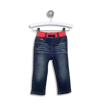Jeans-Pretina-Con-Puntos-Denim-Niña