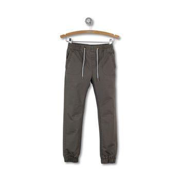 Pantalon-Canvas-Jogging-Kid-Boy-Verde-Musgo