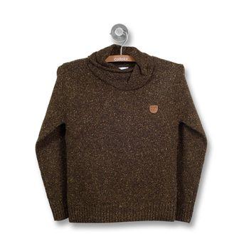 Sweater-Jaspeado-Kid-Boy-Verde-Musgo