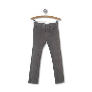 Pantalon-5-Pocket-Cotele-Kid-Boy-Gris