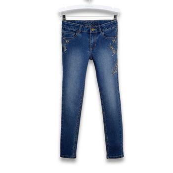 Jeans-Plumas-Bordadas-Kid-Girl-Denim
