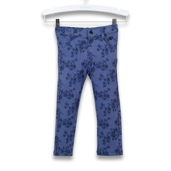 Jeggins-Floreado-Infant-Girl-Blue