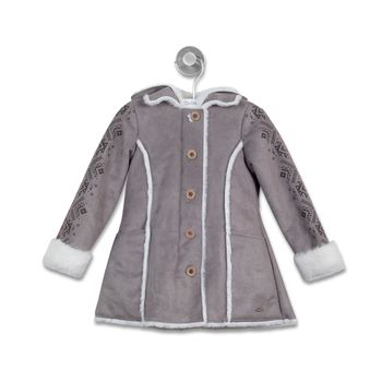 Chaqueta-Sherpas-Estampada-Infant-Girl-Taupe