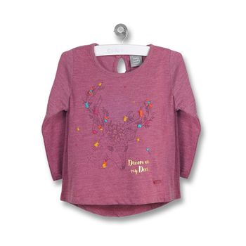 Polera-Siervo-Infant-Girl-Guinda