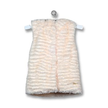 Chaqueta-Piel-Folk-Infant-Girl-Off-White