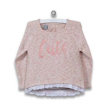 Sweater-Memories-Con-Encaje-Infant-Girl-Rose