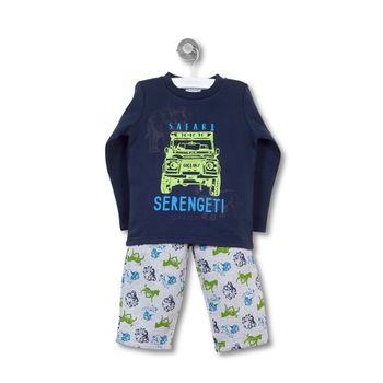 Pijama-Polycotton-Kid-Boy-Denim
