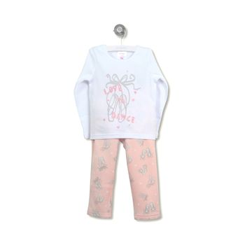 Pijama-Polar-Ballet-Kid-Girl-Soft-Pink
