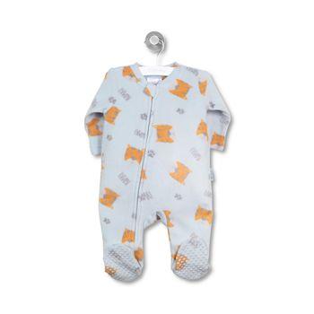 Pijama-Polar-Full-Print-Newborn-Boy-Celeste