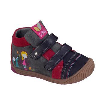 Botin-Dos-Velcros-Girl-Dk-Grey