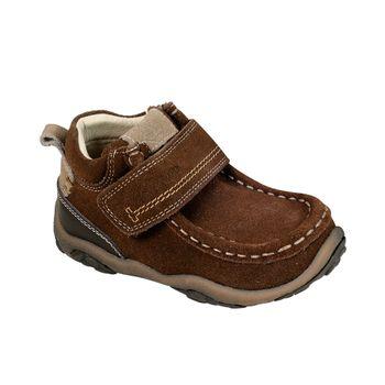 Botin-Clasico-Nautico-Velcro-Boy-Brown
