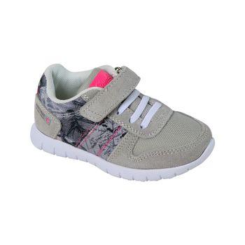 Zapatilla-Sport-Velcro-Cordon-Estampada-Girl-Lt.-Gray