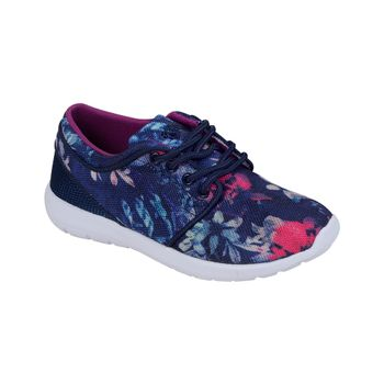 Zapatilla-Sport-Flores-Girl-Navy