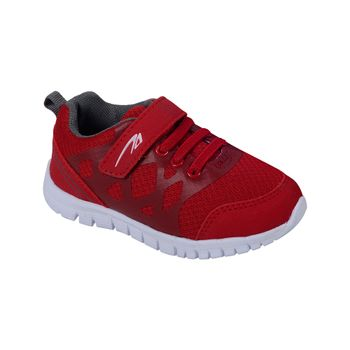 Zapatilla-Sport-Velcro-Elastico-Boy-Red