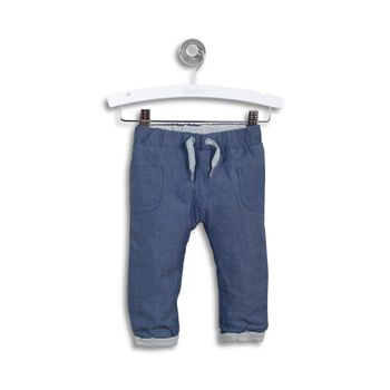 Pantalon-de-Buzo-American-Football-Blue-Melange-Niño