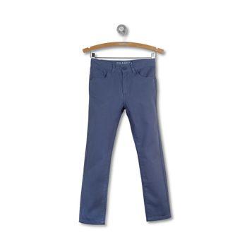 Pantalon-5-Pocket-Gabardina-Kid-Boy-Light-Denim