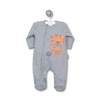 Pijama-Interlock-Boy-Newborn-Boy-Gris-Melange
