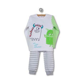 Pijama-Ludico-Monster-Kid-Boy-Blanco