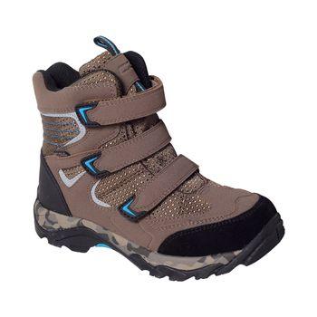Bota-Outdoor-3-Velcros-Brown-Boy