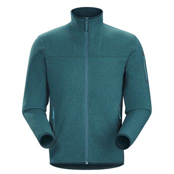 FLEECE-ARC-TERYX-M-COVERT-CARDIGAN-MUJER-PETROLEO-L