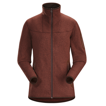 FLEECE-ARC-TERYX-W-COVERT-CARDIGAN-MUJER-CHERRY-L