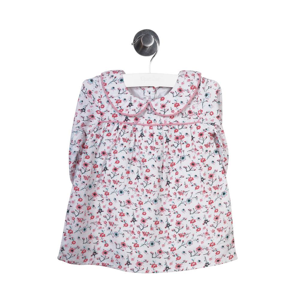 boutique de salida elegante y elegante descuento vestido bebe niña floral rosado vei77030-i18