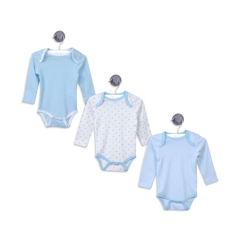 fb4bf14be7a92 PACK BODIES BEBE NIÑO CELESTE V19STR14040-V19